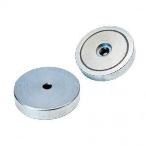Pot magnets - neodymium – internal thread